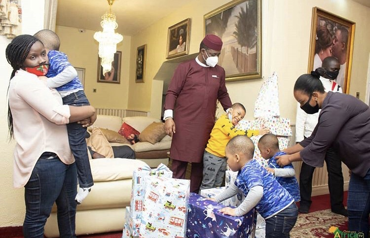 Fani-Kayode Family and Children