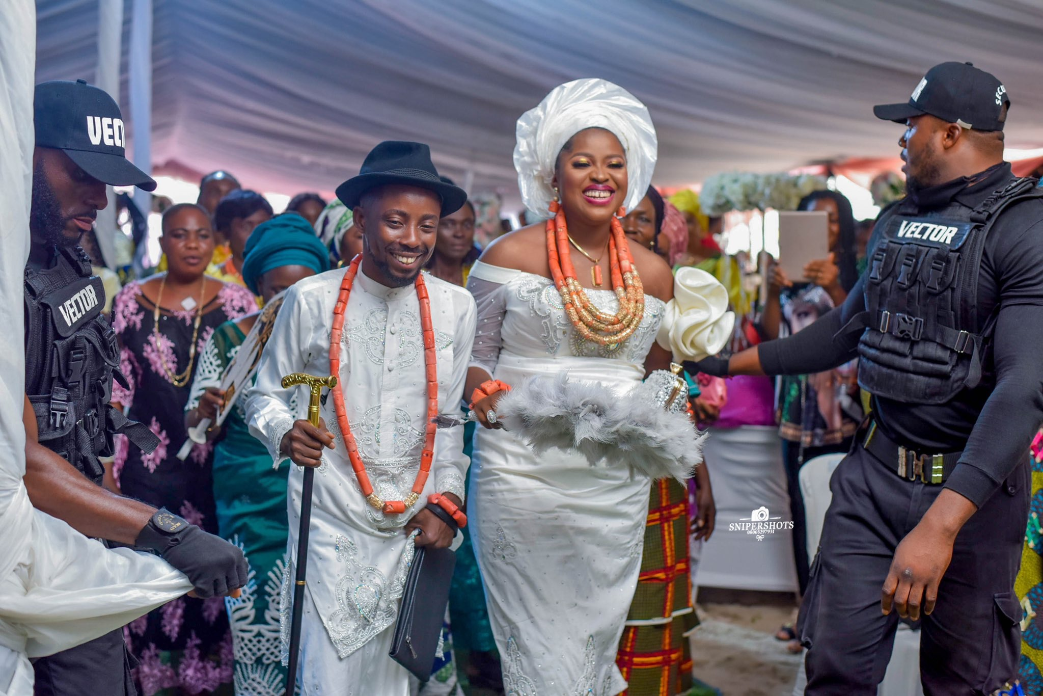 Erigga marries baby mama Morenike