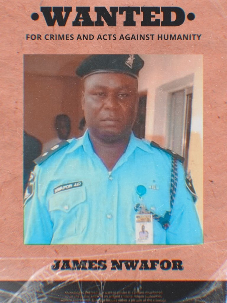 CSP James Nwafor Declared Wanted