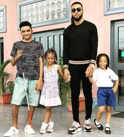 Flavour Wife and Children