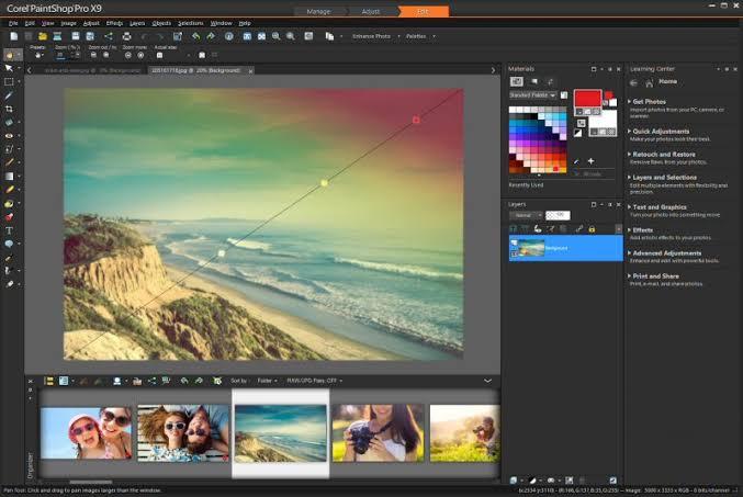Corel Paint pro Photo Editing Software