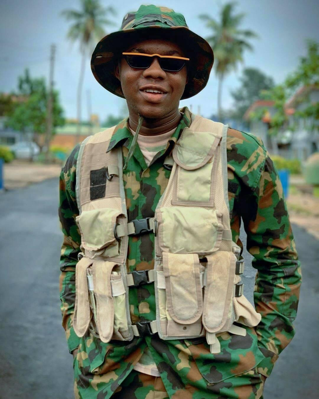 Is Cute Abiola a Navy Officer