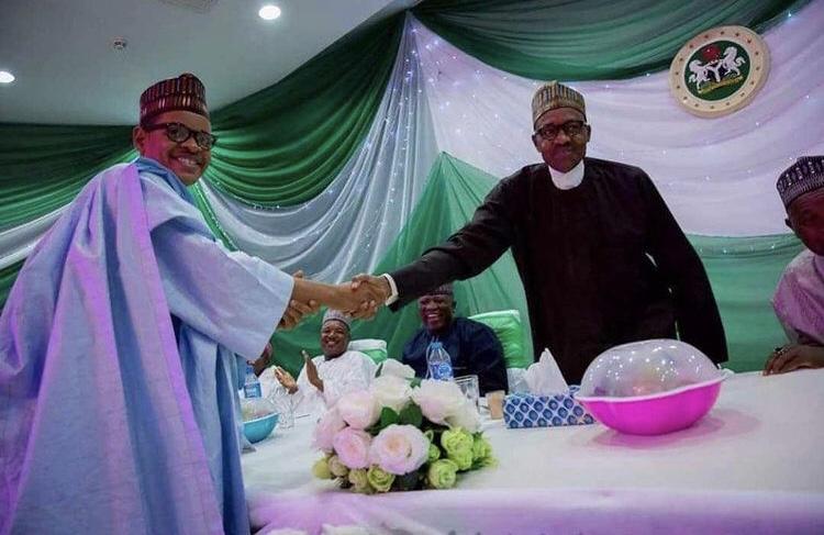 Mc Tagwaye meets President Buhari