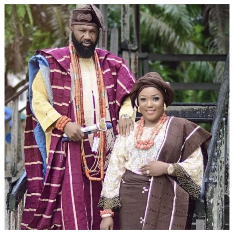Oba Omogoriola Hassan wife