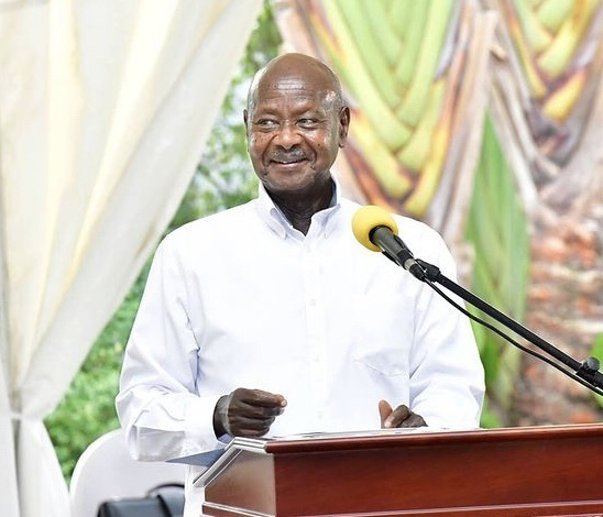 Museveni career