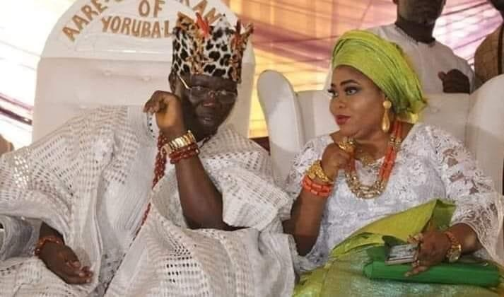 Gani Adams and Wife