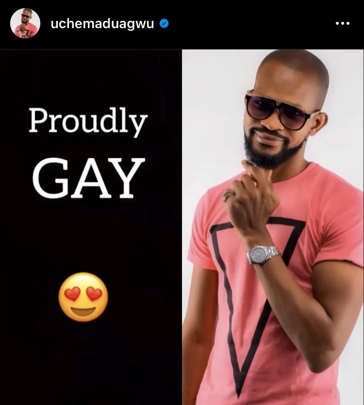 Uche Maduagwu Gay