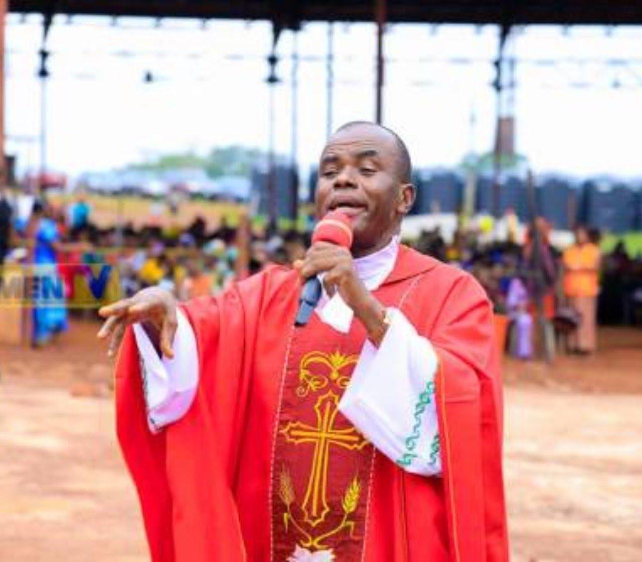 Fr Mbaka ordination and career