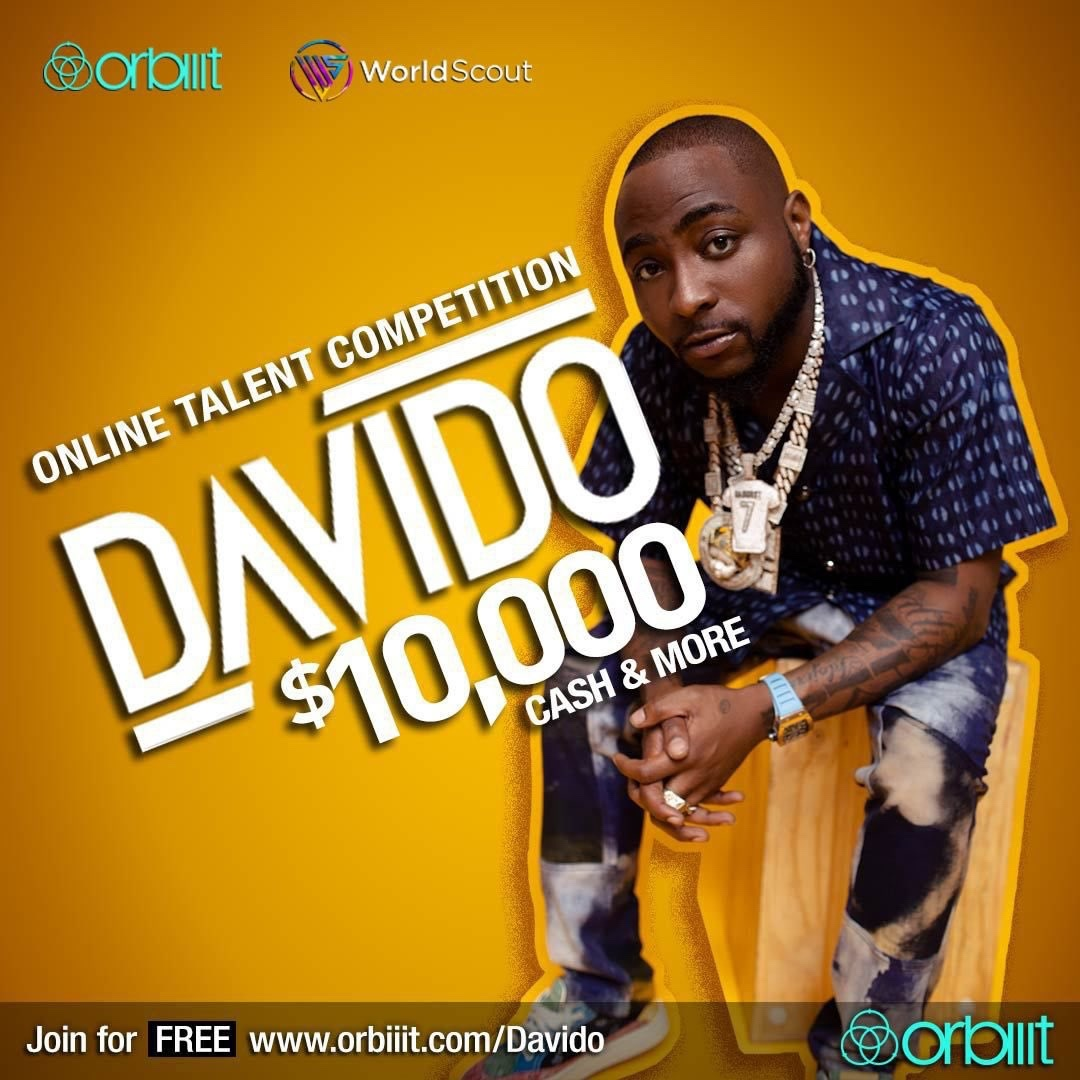 How to participate in Davido Online Talent Competition