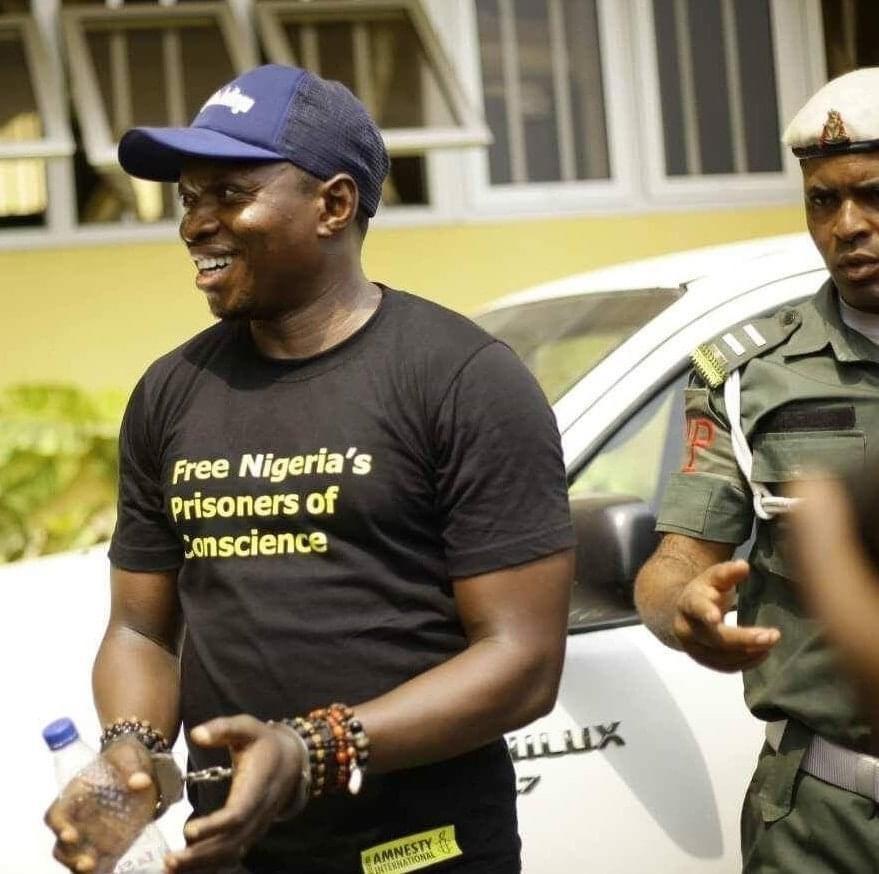 Agba Jalingo Arrest